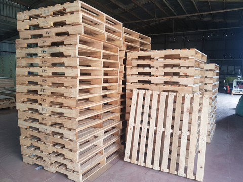 Popular types of wooden pallets